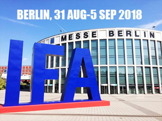 2018 柏林消费电子暨家电用品展