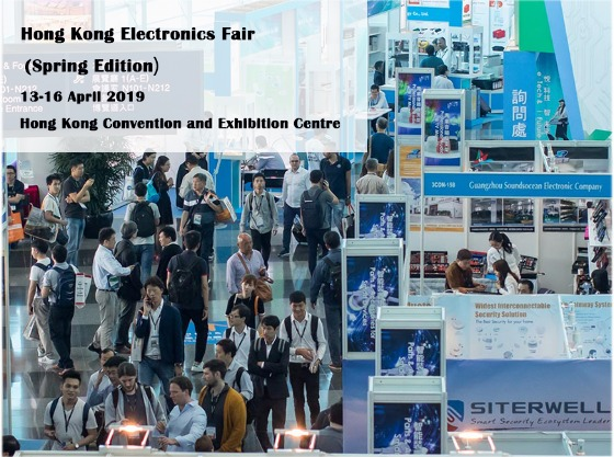 Hong Kong Electronics Fair (Spring Edition) 2019