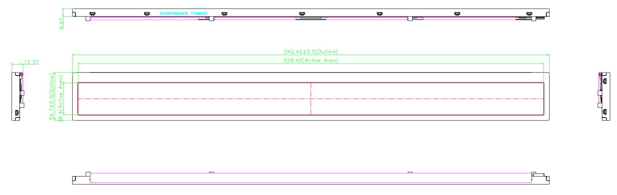 Bar Display 2D