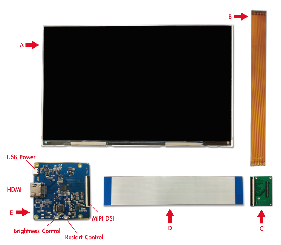 K089MDS-V01-HDMI Solution (Project)-Taiwan Screen