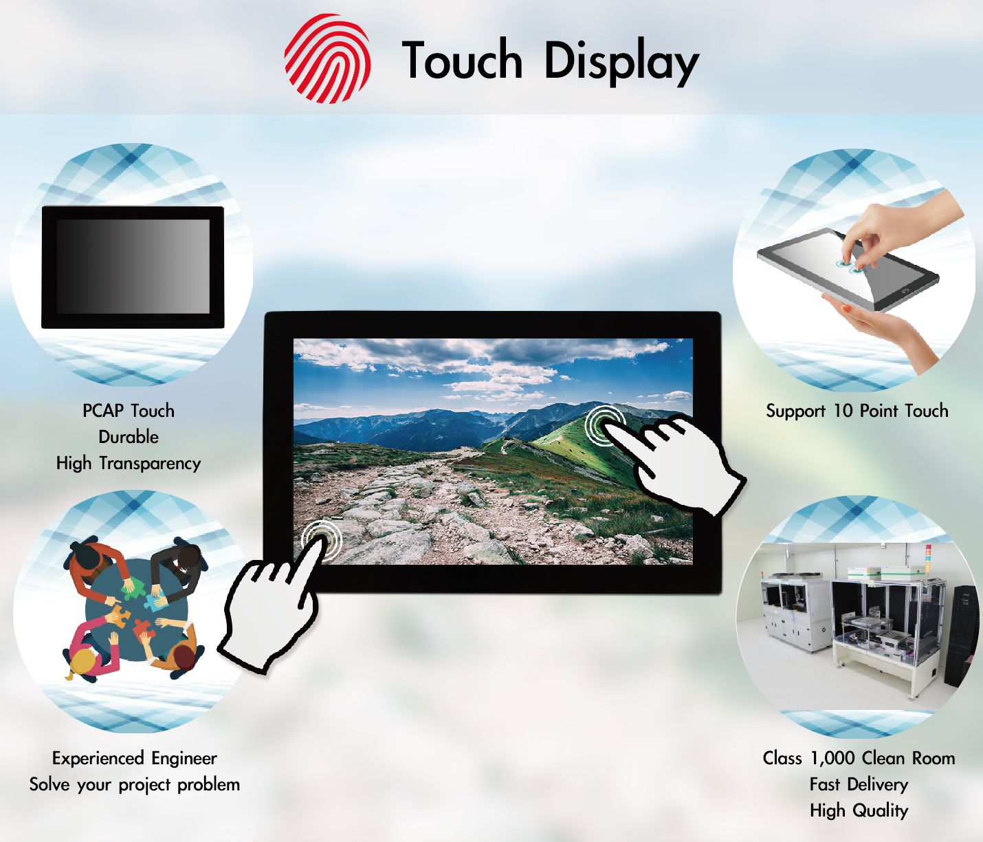 Touch Display Feature