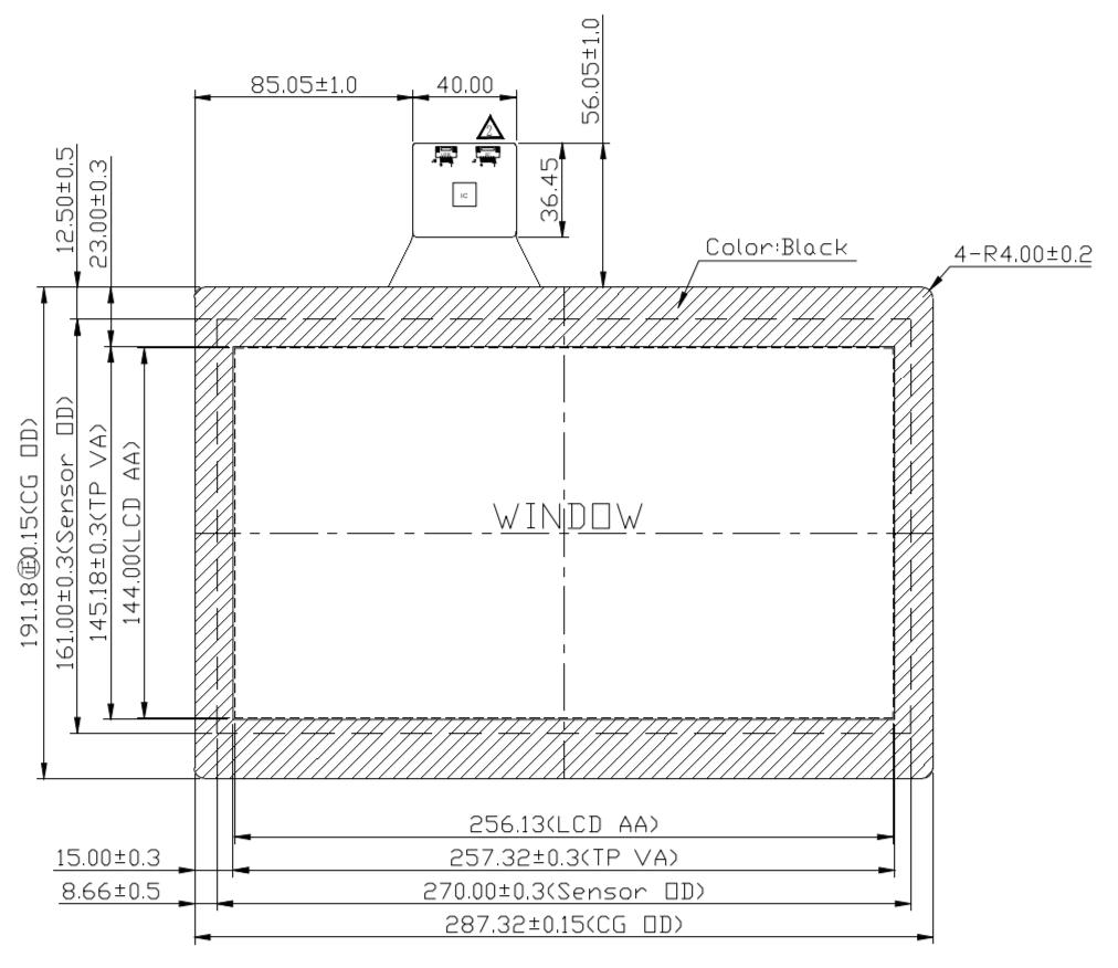 F116PET-T21 2D Drawing