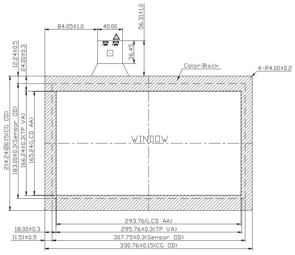 B133PFU-E02 2D Drawing