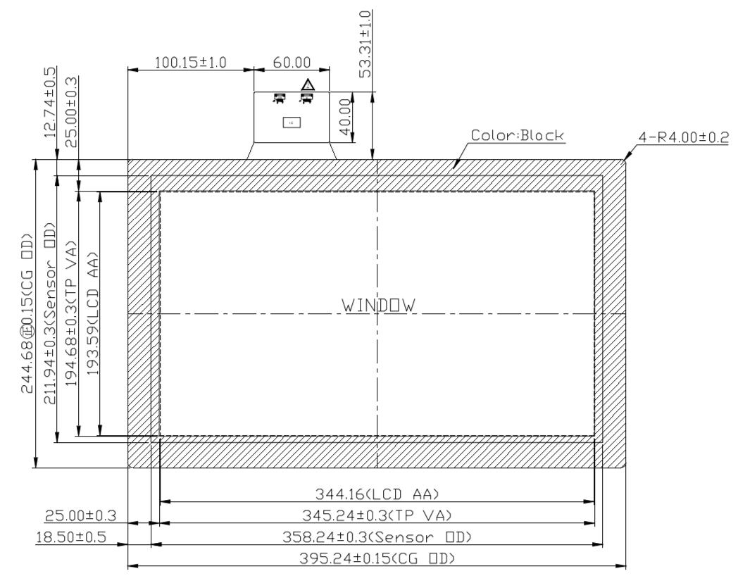 B156PFU-E03 2D Drawing