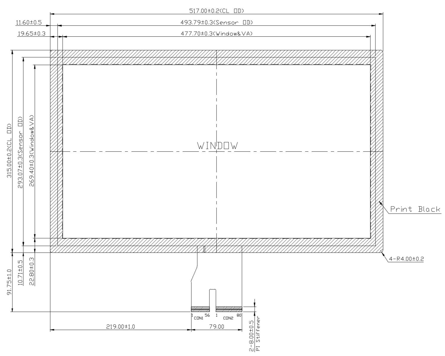 B215PBU-E05 2D Drawing
