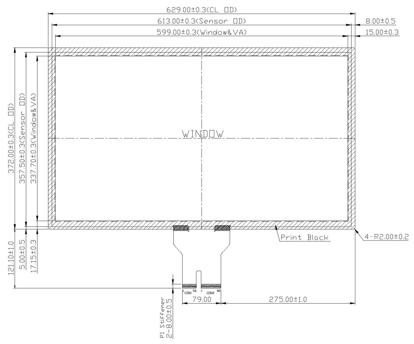B270PBU-E03 2D Drawing