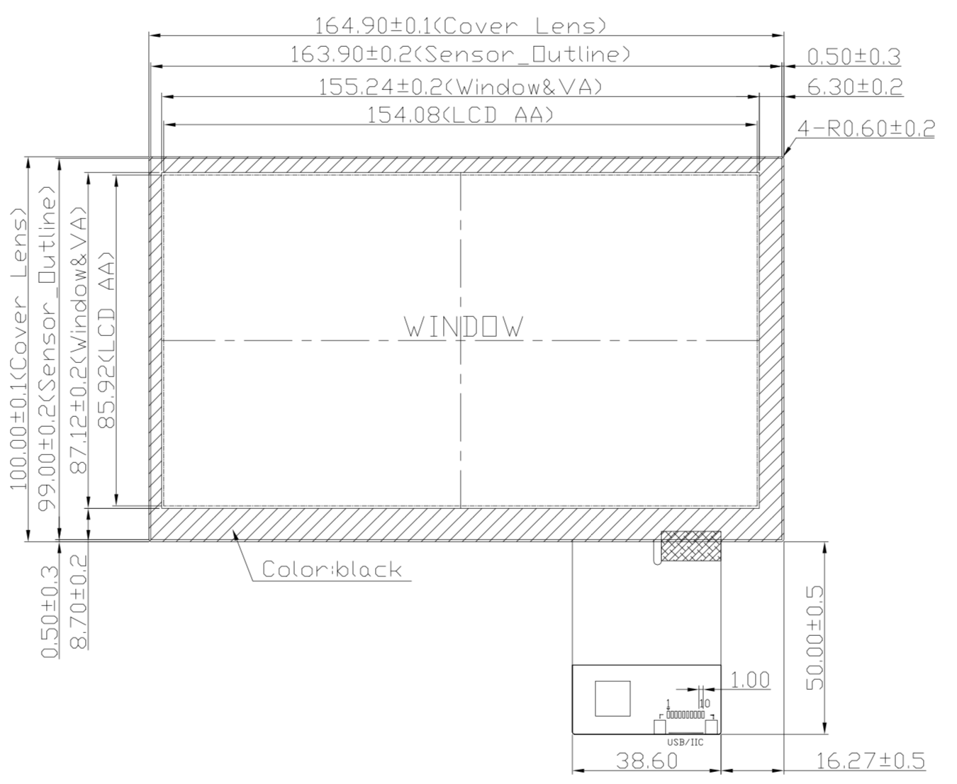 B070PFU-E04 2D Drawing
