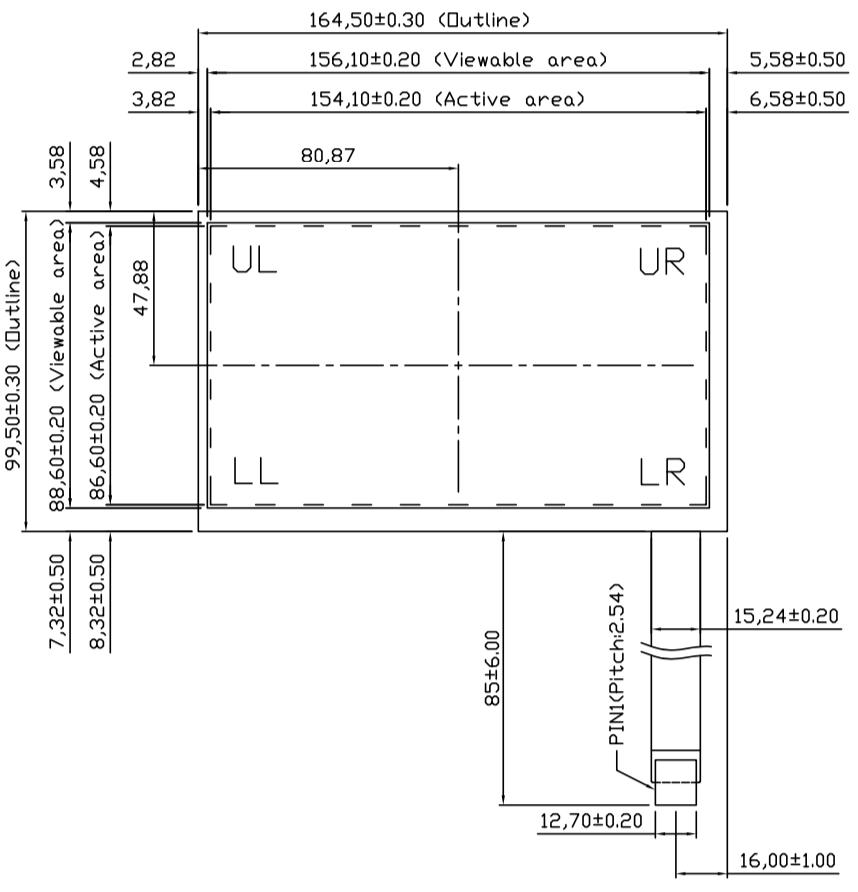 B070R5U-E02 2D Drawing