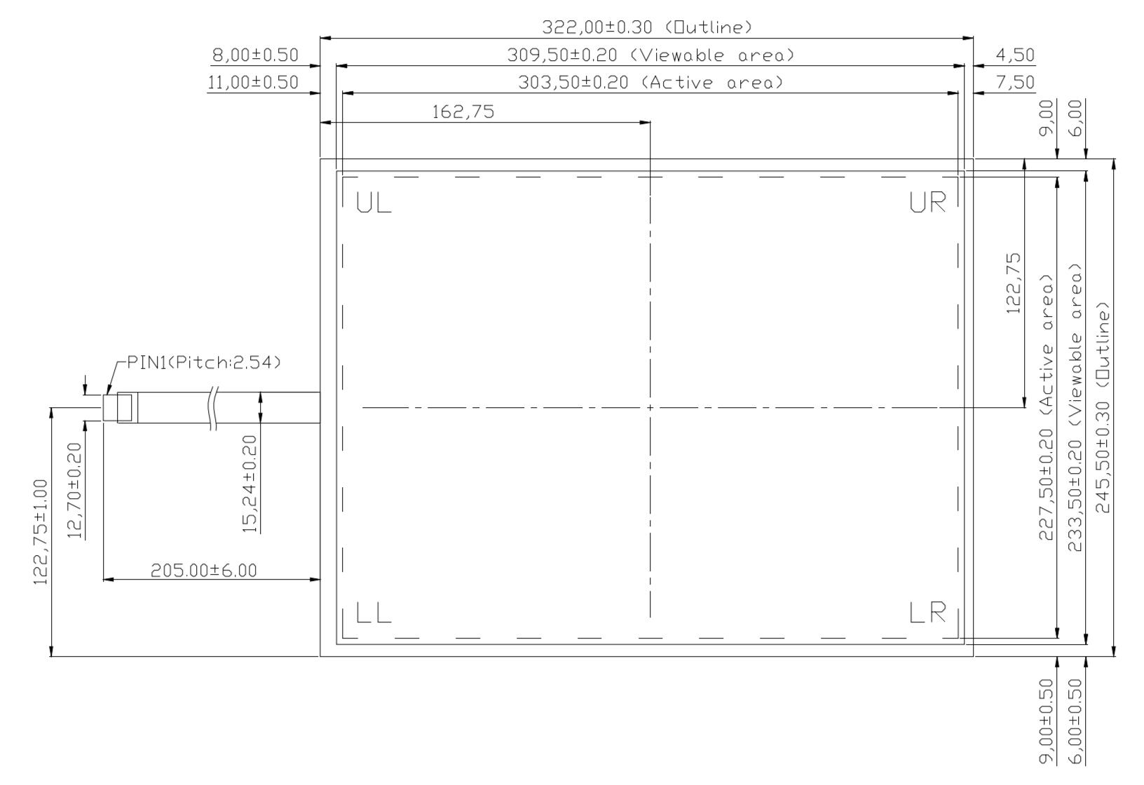 B150R5U-E02 2D Drawing