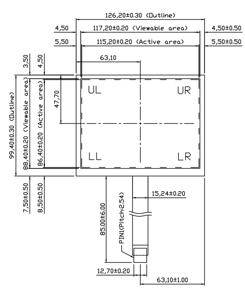 B057R5U-E01 2D Drawing