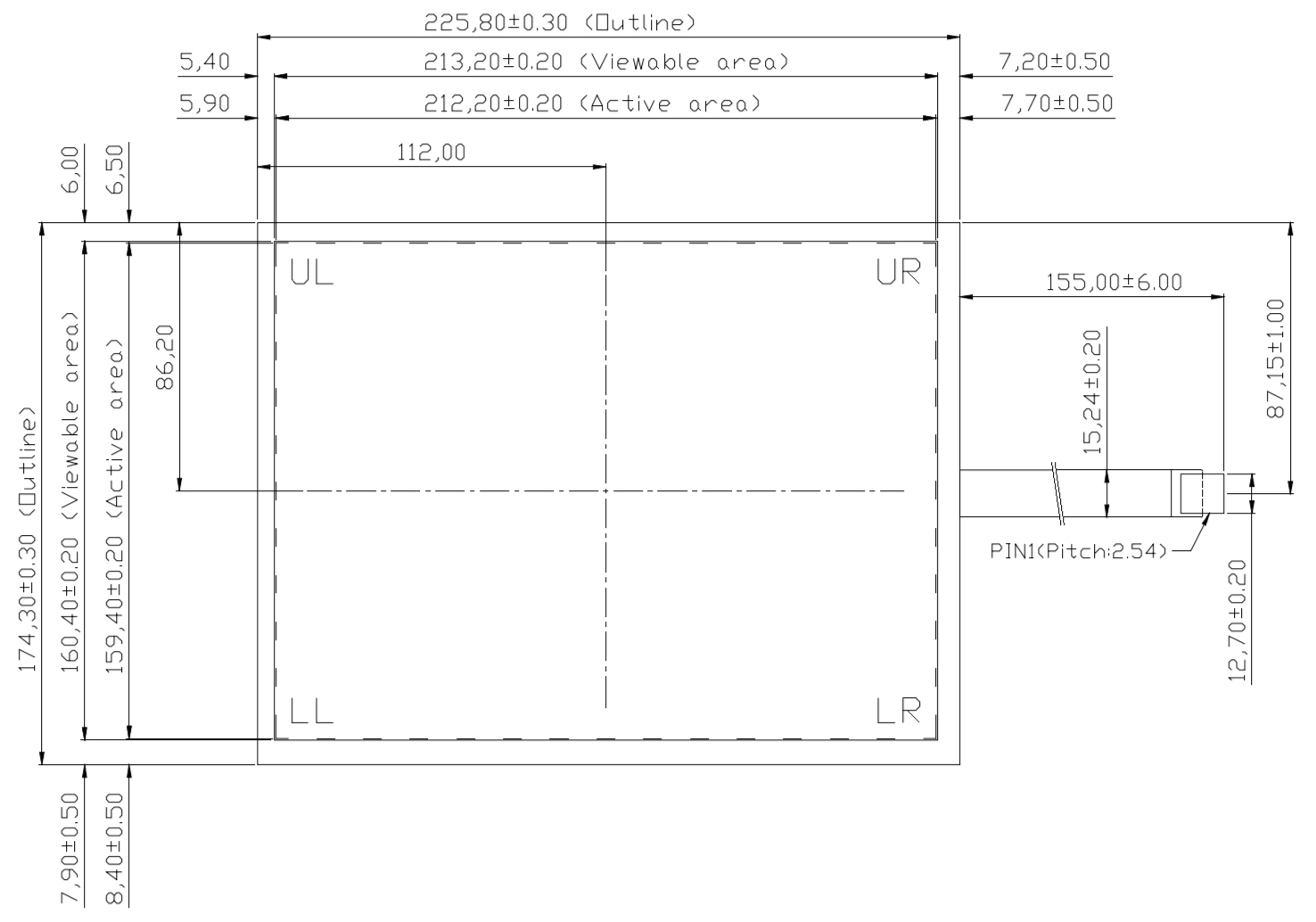 B104R5U-E03 2D Drawing