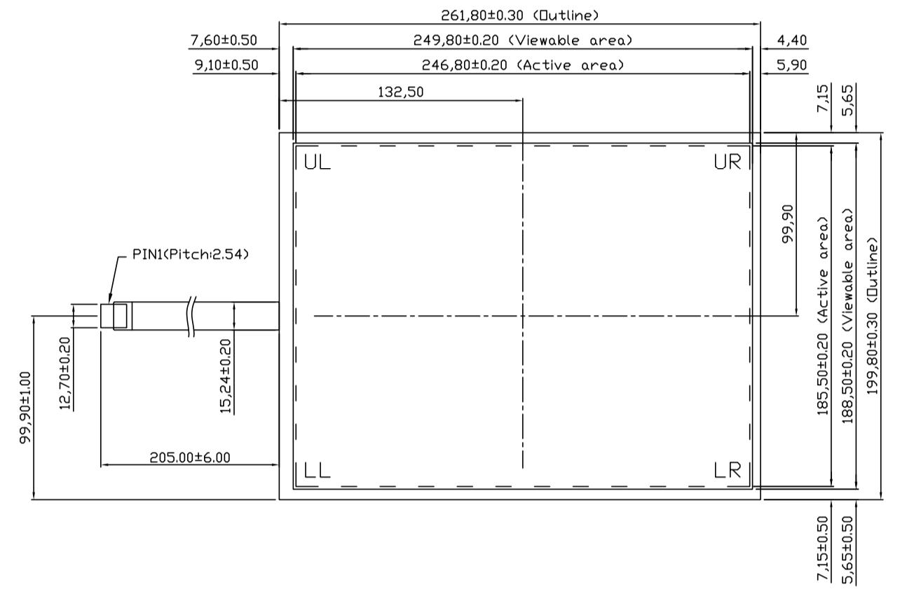 B121R5U-E03 2D Drawing
