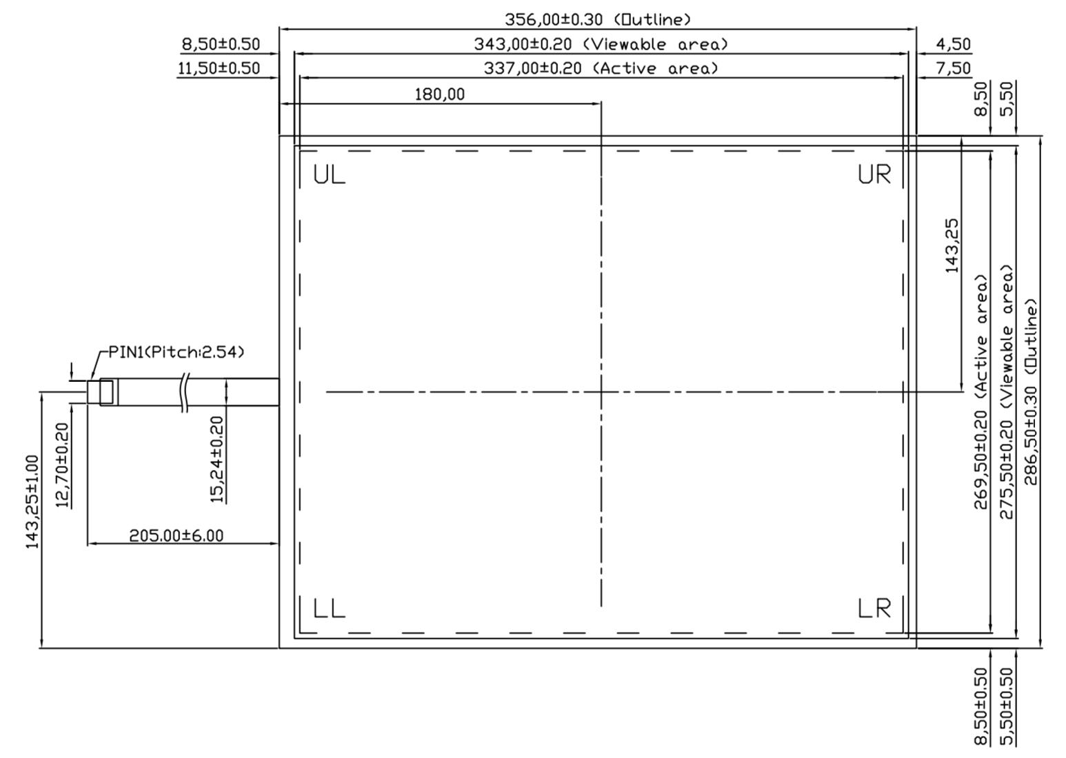 B170R5U-E01 2D Drawing