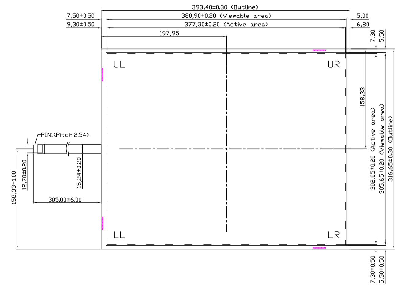 B190R5U-E01 2D Drawing