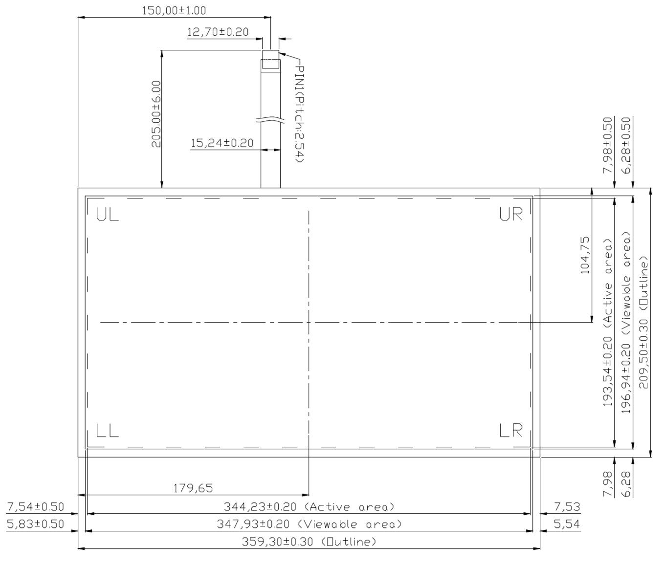 B156R5U-E01 2D Drawing