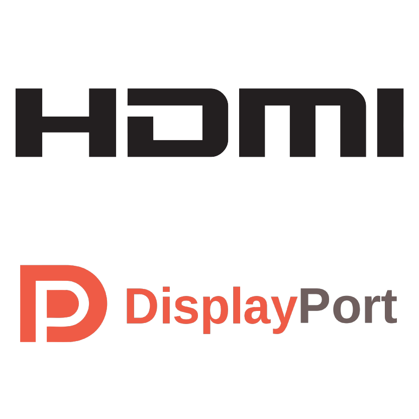 HDMI. Display Port