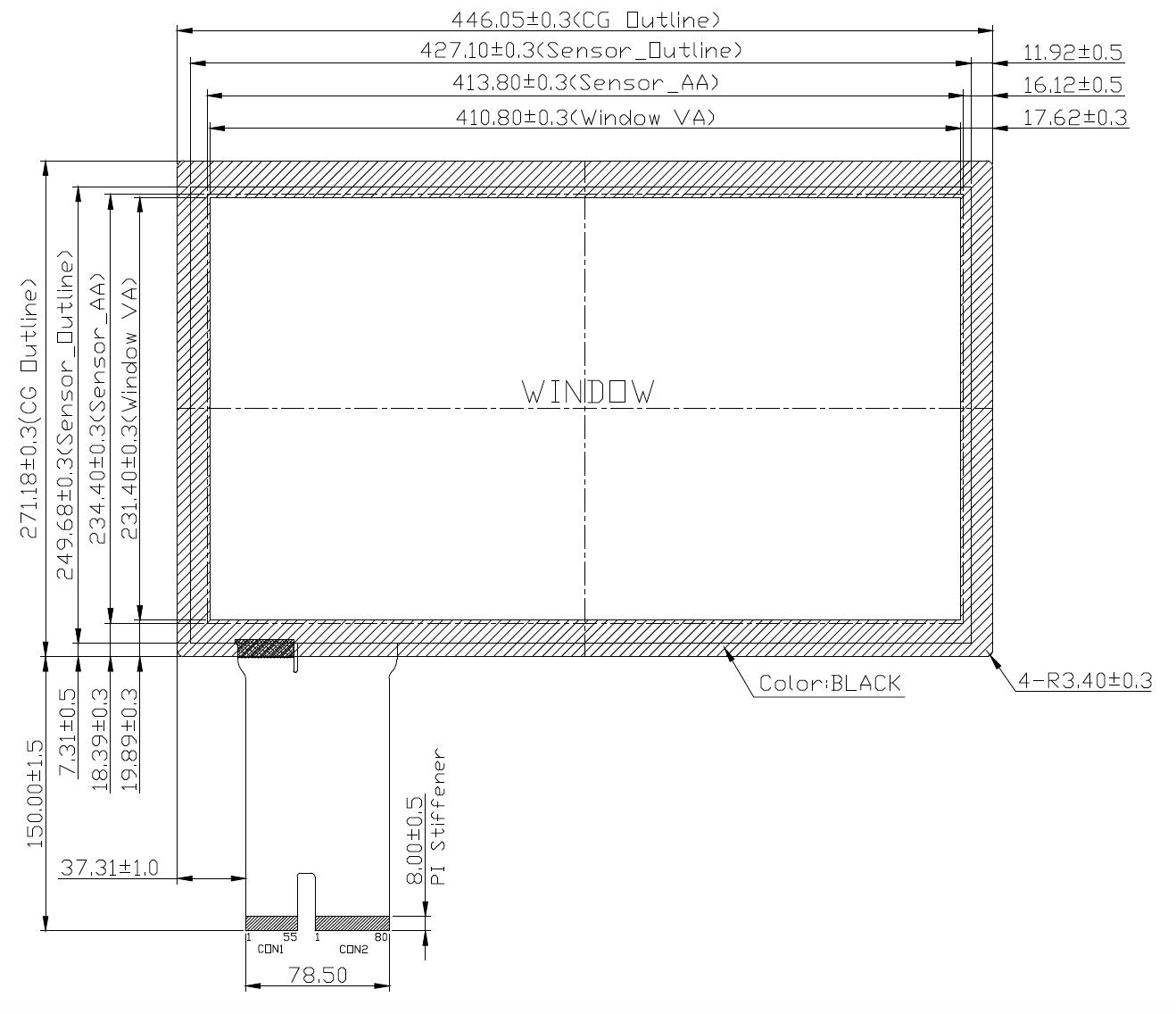 B185PBU-E01 2D Drawing
