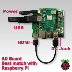 RASPBERRY PI AD BOARD