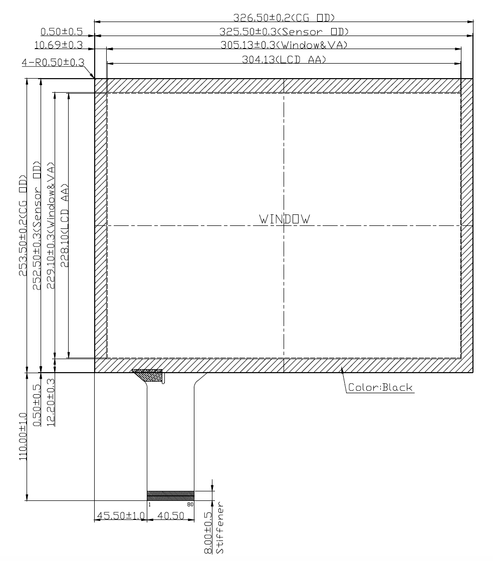 B150PBU-E03 2D Drawing